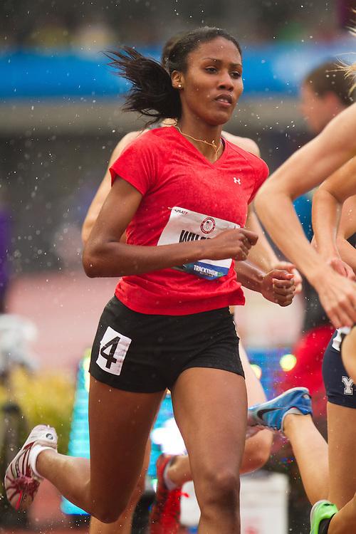 Olympic Trials Eugene 2012: Ajee Wilson (high school), women's 800 meters