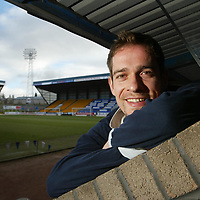 Paul Bernard, St Johnstone FC<br /><br />Picture by Graeme Hart.<br />Copyright Perthshire Picture Agency<br />Tel: 01738 623350  Mobile: 07990 594431