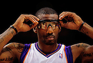 Mar. 14 2010; Phoenix, AZ, USA; Phoenix Suns forward Amare Stoudemire (1) in the second half at the US Airways Center. The Suns defeat the Hornets 120 to 106. Mandatory Credit: Jennifer Stewart-US PRESSWIRE.