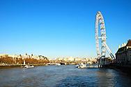 London Eye in London, England, United Kingdom.