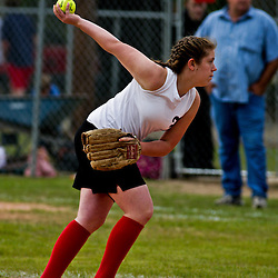 09 April 2009: During the the Loranger Lady Wolves 12-0 victory over district rival the Independence Lady Tigers.