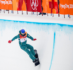 14-02-2018 KOR: Olympic Games day 5, PyeongChang<br /> Men Half Pipe final at Phoenix Park / Scotty James of Australia