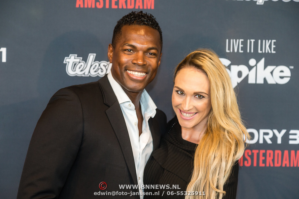 NLD/Amsterdam20160625 - Glory 31, Remy Bonjansky en zwangere partner