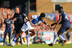 Ellis Harrison of Bristol Rovers and Michael Kightly of Southend United battle for possession - Mandatory by-line: Richard Calver/JMP - 05/05/2018 - FOOTBALL - Roots Hall - Southend-on-Sea, England - Southend United v Bristol Rovers - Sky Bet League One
