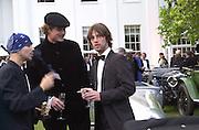 Stuart Zender, Jack Kidd, JayK. The Louis Vuitton Clasic. Hurlingham Club, London. 2 June 2001. © Copyright Photograph by Dafydd Jones 66 Stockwell Park Rd. London SW9 0DA Tel 020 7733 0108 www.dafjones.com