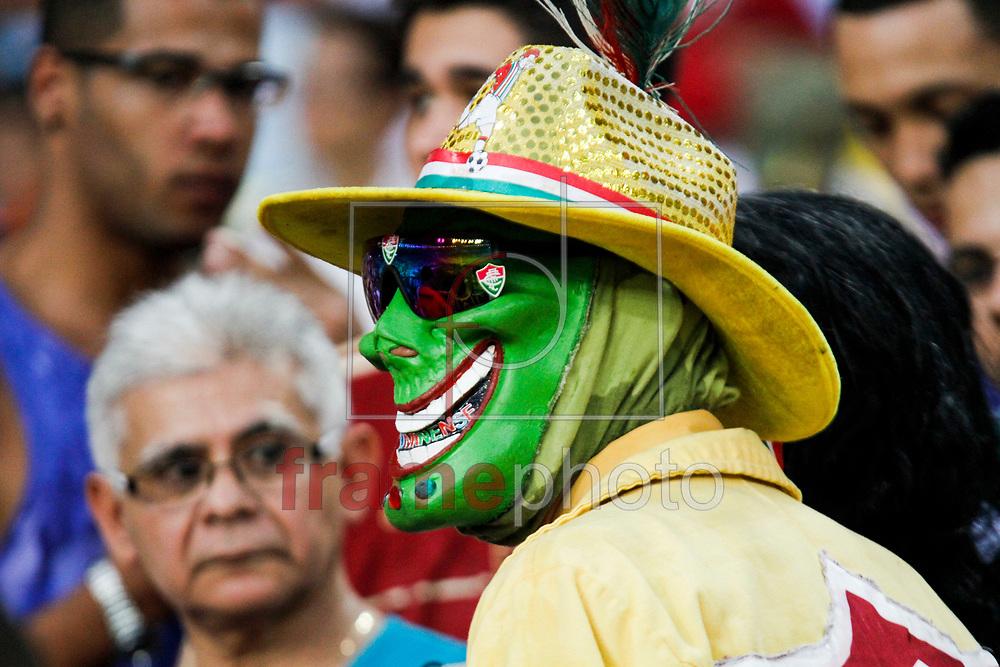 Rio de Janeiro (RJ), 21/09/2013 - Torcida antes do jogo entre Fluminense e Coritiba válido pela 23a rodada do Campeonato Brasileiro de 2013, realizado no estádio do Maracanã, zona norte da cidade. Foto:  Rudy Trindade / Frame