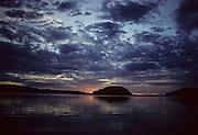 Sunrise, Clouds, Ocean, Baja, Mexico