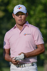 August 10, 2018 - Town And Country, Missouri, U.S - SI WOO KIM from Republic of China during round two of the 100th PGA Championship on Friday, August 10, 2018, held at Bellerive Country Club in Town and Country, MO (Photo credit Richard Ulreich / ZUMA Press) (Credit Image: © Richard Ulreich via ZUMA Wire)
