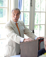 BUCKINGHAM, PA - JULY 23:  Dr. Robert Quigley, regional medical director for International SOS speaks at the Central Bucks Chamber of Commerce quarterly CEO Global Briefing July 23, 2014 in Buckingham, Pennsylvania. International SOS is a Bensalem organization that provides medical assistance and other help to people traveling abroad. (Photo by William Thomas Cain/Cain Images)