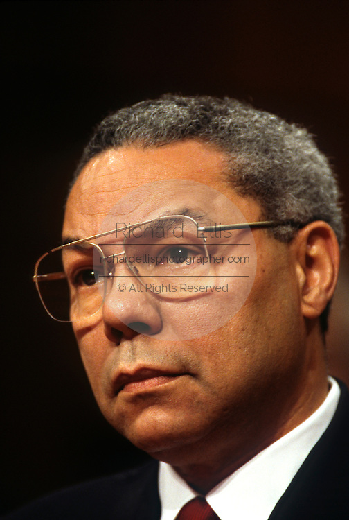 General Colin Powell April 17, 1997 in Washington, DC.