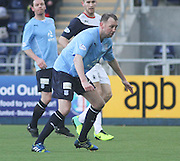 Dundee new boy Stephen Hughes - Falkirk v Dundee, SPFL Championship at <br /> Falkirk Stadium<br />  - &copy; David Young - www.davidyoungphoto.co.uk - email: davidyoungphoto@gmail.com