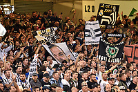Juventus supporters during the UEFA Champions League Final match between Real Madrid and Juventus at the National Stadium of Wales, Cardiff, Wales on 3 June 2017. Photo by Giuseppe Maffia.<br /> <br /> Giuseppe Maffia/UK Sports Pics Ltd/Alterphotos