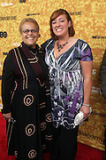 "New York, NY- October 6: Adrienne Belafonte-Biesemeyera and her daughter Rachel Blue at the HBO Premiere of "" Sing Your Song"" chronicling the life & iconic career of legendary entertainer & civil rights hero Harry Belafonte held at the Apollo Theater on October 6, 2011 in Harlem, New York City. Photo Credit: Terrence Jennings"