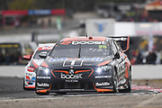 20th May 2018, Winton Motor Raceway, Victoria, Australia; Winton Supercars Supersprint Motor Racing; James Courtney drives the number 25 Walkinshaw Andretti United Holden Commodore ZB during race 14 of the 2018 Supercars Championship