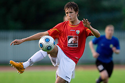Luka Prasnikar of Rudar at 1st Round of Europe League football match between NK Rudar Velenje (Slovenia) and Trans Narva (Estonia), on July 9 2009, in Velenje, Slovenia. Rudar won 3:1 and qualified to 2nd Round. (Photo by Vid Ponikvar / Sportida)