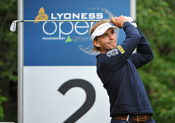 05.06.2014, Country Club Diamond, Atzenbrugg, AUT, Lyoness Golf Open, im Bild Joost Luiten (NED) // Joost Luiten (NED) in action during the Austrian Lyoness Golf Open at the Country Club Diamond, Atzenbrugg, Austria on 2014/06/05. EXPA Pictures © 2014, PhotoCredit: EXPA/ Sascha Trimmel