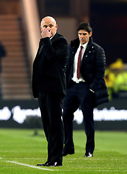 Hull City manager Mike Phelan and Middlesbrough manager Aitor Karanka - Mandatory by-line: Robbie Stephenson/JMP - 05/12/2016 - FOOTBALL - Riverside Stadium - Middlesbrough, England - Middlesbrough v Hull City - Premier League
