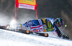 Will Gregorak of USA during  1st Run of Men's Giant Slalom of FIS Ski World Cup Alpine Kranjska Gora, on March 5, 2011 in Vitranc/Podkoren, Kranjska Gora, Slovenia.  (Photo By Vid Ponikvar / Sportida.com)
