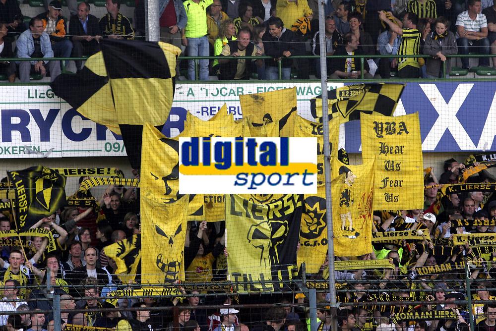 Fotball<br /> Belgia<br /> Foto: PhotoNews/Digitalsport<br /> NORWAY ONLY<br /> <br /> LOKEREN 19/05/2007<br /> <br /> SPORTING LOKEREN  OV - SK LIERSE<br /> <br /> SUPPORTERS FANS