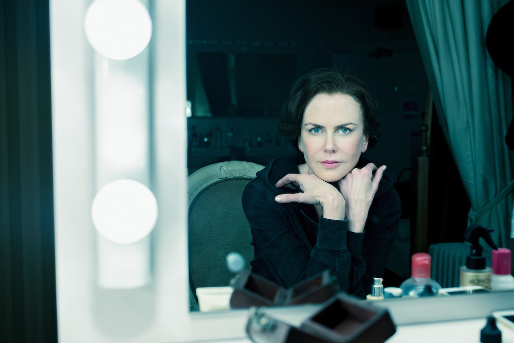Nicole Kidman in her dressing room during the run of Photograph 51, Noël Coward Theatre