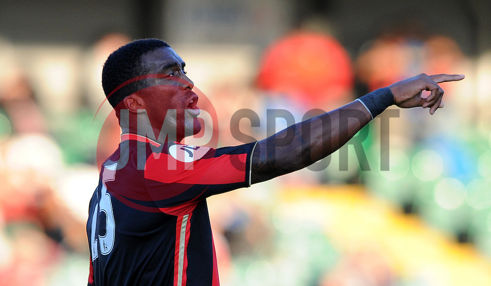 Bournemouth's Sylvin Distin  - Photo mandatory by-line: Harry Trump/JMP - Mobile: 07966 386802 - 28/07/15 - SPORT - FOOTBALL - Pre Season Fixture - Yeovil Town v Bournemouth - Huish Park, Yeovil, England.