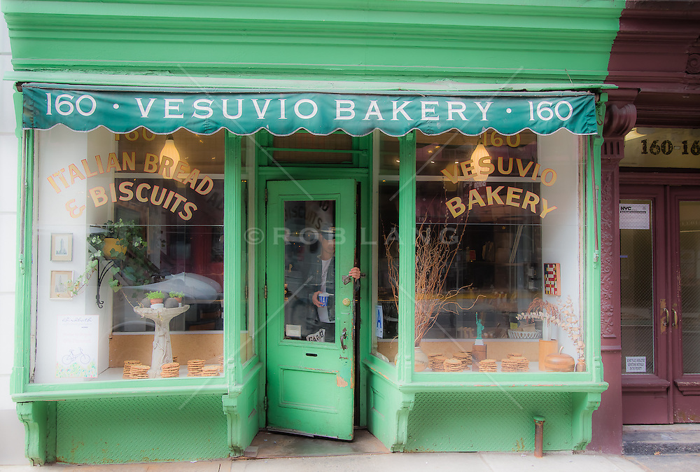 Vesuvio Bakery in Soho, New York City