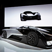 Faraday Future; CES January 2016, LVCC Las Vegas, NV : Marguerite Schumm