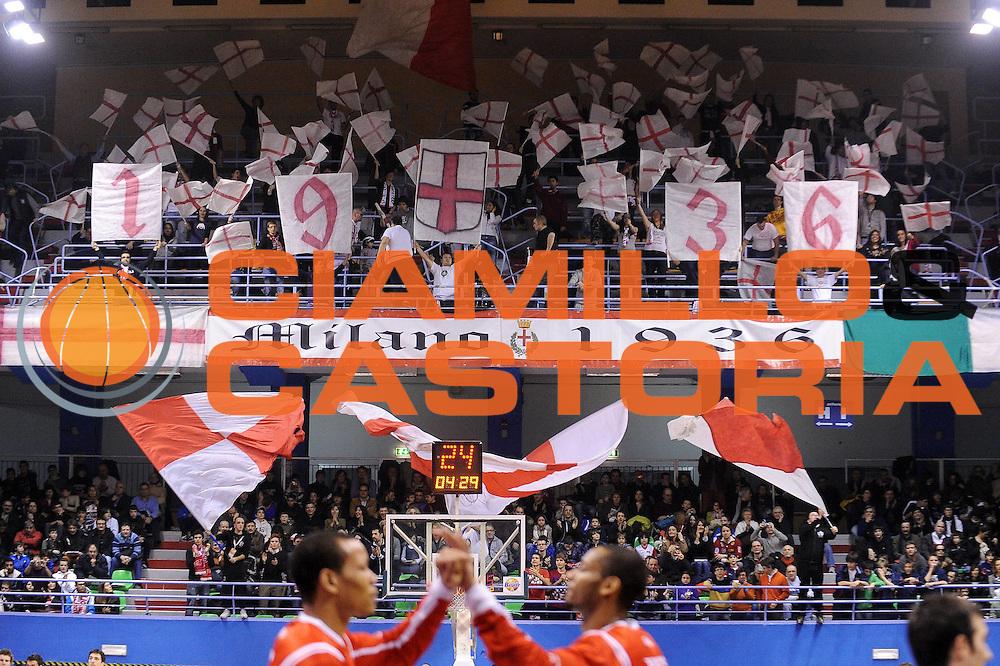 DESCRIZIONE : Milano Lega A 2009-10 Armani Jeans Milano Pepsi Caserta<br /> GIOCATORE : Tifosi Curva Milano<br /> SQUADRA : Armani Jeans Milano<br /> EVENTO : Campionato Lega A 2009-2010 <br /> GARA : Armani Jeans Milano Pepsi Caserta<br /> DATA : 14/02/2010<br /> CATEGORIA :  Ritratto<br /> SPORT : Pallacanestro <br /> AUTORE : Agenzia Ciamillo-Castoria/A.Dealberto<br /> Galleria : Lega Basket A 2009-2010 <br /> Fotonotizia : Milano Campionato Italiano Lega A 2009-2010 Armani Jeans Milano Pepsi Caserta<br /> Predefinita :