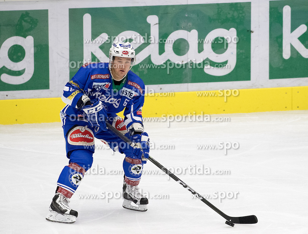 18.09.2016, Stadthalle, Villach, AUT, EBEL, EC VSV vs HC Orli Znojmo, 2. Runde, im Bild Kevin Wehrs (EC VSV) // during the Erste Bank Icehockey League 2nd Round match between EC VSV vs HC Orli Znojmo at the Stadthalle in Villach, Austria on 2016/09/18. EXPA Pictures © 2016, PhotoCredit: EXPA/ Johann Groder