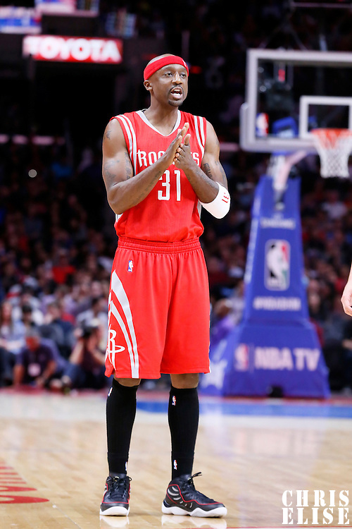 11 February 2015: Houston Rockets guard Jason Terry (31) is seen during the Los Angeles Clippers 110-95 victory over the Houston Rockets, at the Staples Center, Los Angeles, California, USA.