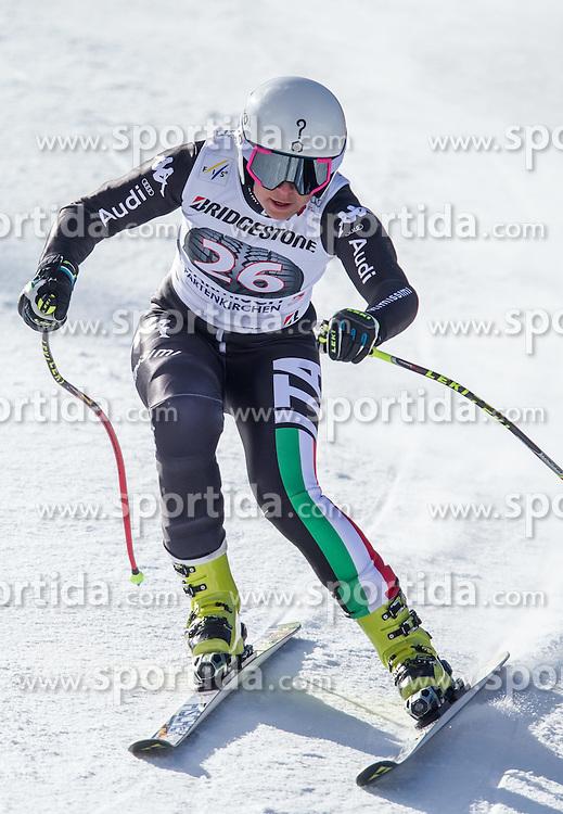 06.03.2015, Kandahar, Garmisch Partenkirchen, GER, FIS Weltcup Ski Alpin, Abfahrt, Damen, 1. Trainingslauf, im Bild Johanna Schnarf (ITA) // Johanna Schnarf of Italy during 1st training run for the ladie's Downhill of the FIS Ski Alpine World Cup at the Kandahar course, Garmisch Partenkirchen, Germany on 2015/03/06. EXPA Pictures © 2015, PhotoCredit: EXPA/ Johann Groder