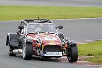 #9 Daniel Martin Caterham Roadsport during the Avon Tyres Caterham Roadsport Championship at Oulton Park, Little Budworth, Cheshire, United Kingdom. August 13 2016. World Copyright Peter Taylor/PSP.