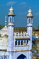 Gyanvapi Mosque (Great Mosque of Auran Aurangzeb), Varanasi (Benares), Uttar Pradesh, India