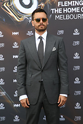 AU_1391508 - Melbourne, AUSTRALIA  -  Scott Disick posed for photos on the Ultra media wall, but Sofia Richie just walked straight in when they arrived in the celebrity and VIP Birdcage enclosure at AAMI Victoria Derby Day.<br /> <br /> Pictured: Scott Disick<br /> <br /> BACKGRID Australia 3 NOVEMBER 2018 <br /> <br /> BYLINE MUST READ: Richard Milnes / BACKGRID<br /> <br /> Phone: + 61 2 8719 0598<br /> Email:  photos@backgrid.com.au