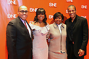 2 February 2011-New York, NY- l to r: Mark Prince, Tatyana Ali, Vanessa Henry, and Phil Morris at TV One 2011 Programming Presentation Luncheon held at Cipriani 42nd Street on February 2, 2011 in New York City. Photo Credit: Terrence Jennings/Retna, Ltd