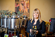 Kymberlei DiNapoli, owner, Taste the Olive, shot for Wilma Magazine