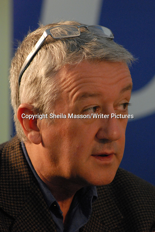 Allan Little, British journalist and correspondent, at the Books, Borders and Bikes festival at Traquair House, Innerleithen, Peebleshire, Scotland, August 21, 2011.