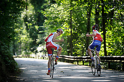 LUXEMBOURG CITY - SEPT-9-2012 -  Cyclists ride along one of the main bike trails near Luxembourg City. (Photo © Jock Fistick)