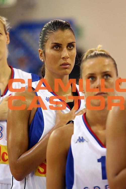 DESCRIZIONE : Ortona Italy Italia Eurobasket Women 2007 Serbia Italia Serbia Italy<br /> GIOCATORE : Jasmina Ilic<br /> SQUADRA : Serbia<br /> EVENTO : Eurobasket Women 2007 Campionati Europei Donne 2007 <br /> GARA : Serbia Italia Serbia Italy<br /> DATA : 01/10/2007 <br /> CATEGORIA : <br /> SPORT : Pallacanestro <br /> AUTORE : Agenzia Ciamillo-Castoria/E.Castoria<br /> Galleria : Eurobasket Women 2007 <br /> Fotonotizia : Ortona Italy Italia Eurobasket Women 2007 Serbia Italia Serbia Italy<br /> Predefinita :