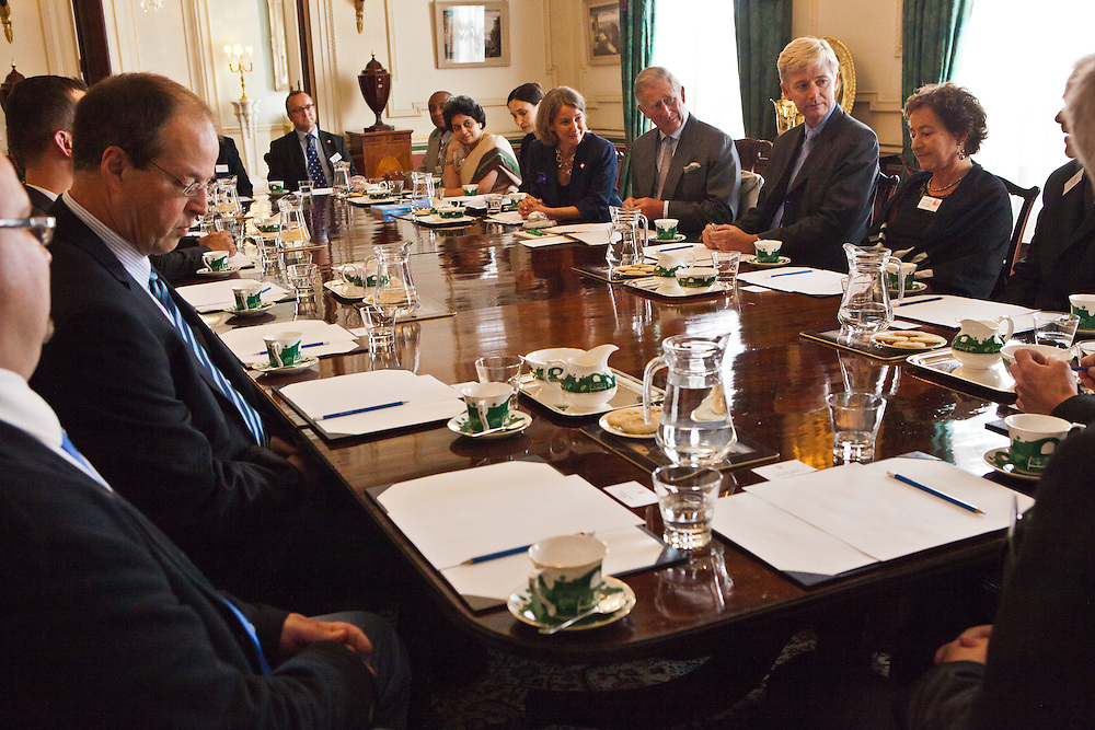 2011 Ashden Award winners in discussion with Patron HRH The Prince of Wales at Clarence House