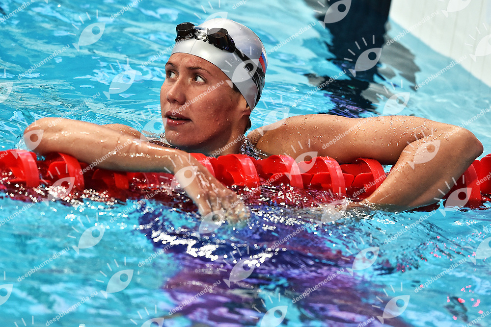 FESIKOVA Anastasiia RUS Women's 100m Backstroke <br /> Day11 03/08/2015 Kazan Arena <br /> Swimming Nuoto <br /> XVI FINA World Championships Aquatics  <br /> Kazan Tatarstan RUS <br /> Photo Andrea Staccioli/Deepbluemedia/Insidefoto