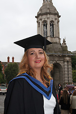 Master in Social Work Class 2013, Trinity College, Dublin, Ireland.