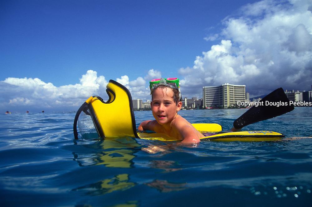 Boy, Waikiki, Oahu, Hawaii<br />