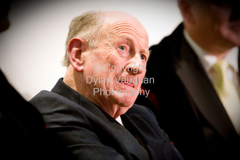 22/11/2008.Seamus Pattison pictures at the Parade Towers at Kilkenny Castle on Saturday night where he received the Freedom of the City from Kilkenny Borough Council..Picture Dylan Vaughan.