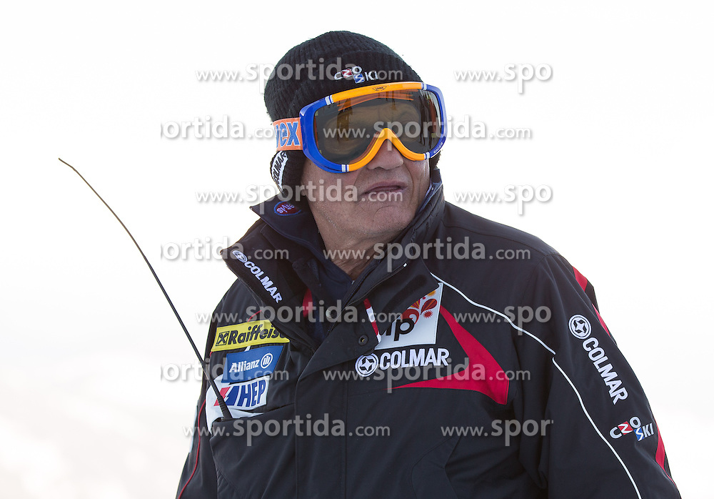 23.01.2013, Streif, Kitzbuehel, AUT, FIS Weltcup Ski Alpin, Abfahrt, Herren, 2. Training, im Bild Ante Kostelic (CRO) // Ante Kostelic of Croatia at the Course inspection during 2nd practice of mens Downhill of the FIS Ski Alpine World Cup at the Streif course, Kitzbuehel, Austria on 2013/01/23. EXPA Pictures © 2013, PhotoCredit: EXPA/ Johann Groder