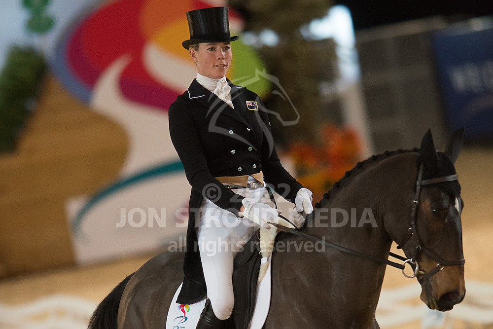 Lucy Jackson (NZL) & Animator - Dressage - Express Eventing - Horse World Live - ExCel London - 17 November 2012