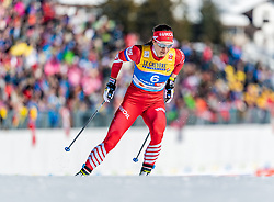 21.02.2019, Langlauf Arena, Seefeld, AUT, FIS Weltmeisterschaften Ski Nordisch, Seefeld 2019, Langlauf, Damen, Sprint, im Bild Natalia Nepryaeva (RUS) // Natalia Nepryaeva of Russian Federation during the ladie's Sprint competition of the FIS Nordic Ski World Championships 2019. Langlauf Arena in Seefeld, Austria on 2019/02/21. EXPA Pictures © 2019, PhotoCredit: EXPA/ Stefan Adelsberger