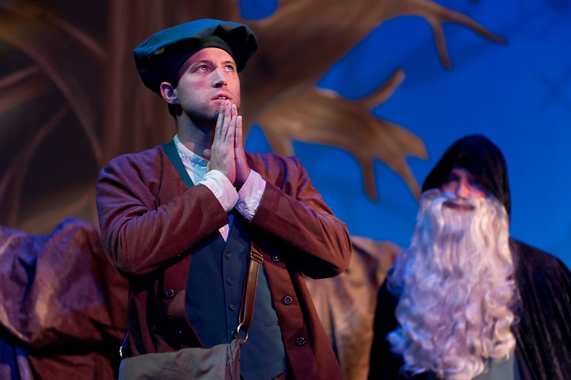 "Dress Rehearsal for Little Theatre of Wilkes-Barre's ""Into the Woods"""