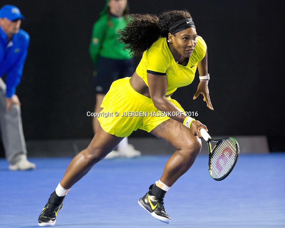 Serena Williams, Australian Open 2016<br /> <br /> Tennis - Australian Open 2016 - Grand Slam ITF / ATP / WTA -  Melbourne Park - Melbourne - Victoria - Australia  - 30 January 2016.