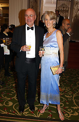 Writer JOANNA TROLLOPE and PAUL SHEARER at the 2005 British Book Awards held at The Grosvenor House Hotel, Park lane, London on 20th April 2005.<br /><br />NON EXCLUSIVE - WORLD RIGHTS